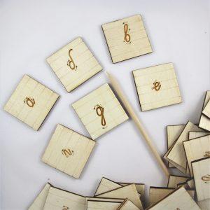 Малки букви за проследяване
