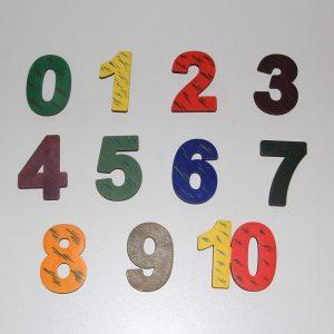 Магнитни цифри - Неща с душа