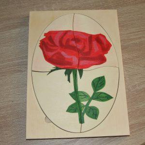 Обучителен пъзел Роза