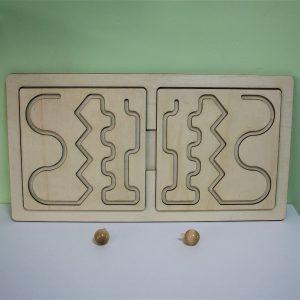 Огледални дървени лабиринти - Неща с душа