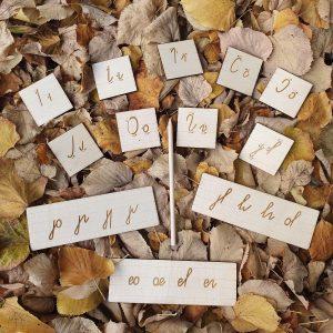 Елементи на буквите - Неща с душа