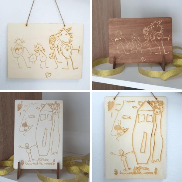 Сувенир от рисунка - Неща с душа