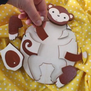 Пъзел Маймунка - Неща с душа