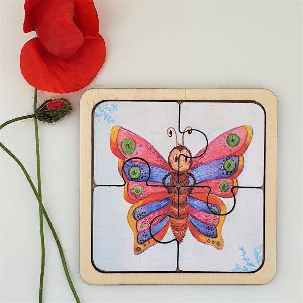 Пъзел Пеперудка - Неща с душа