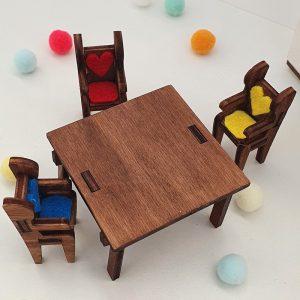 Мини мебели за кухня - Неща с душа