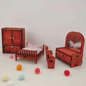 Мини мебели за спалня - Неща с душа