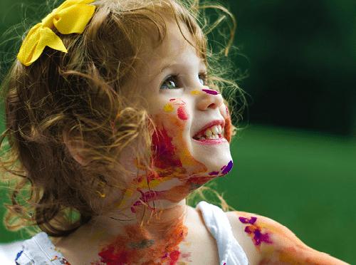 Децата и цветовете