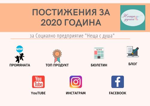 Постижения за 2020 - Неща с душа